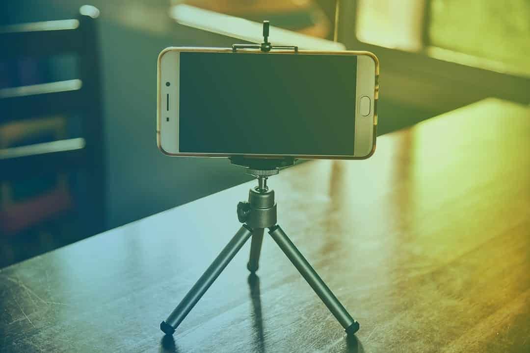 Phone Camera on Tripod