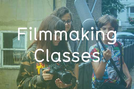 Sparks Filmmaking Classes for Kids